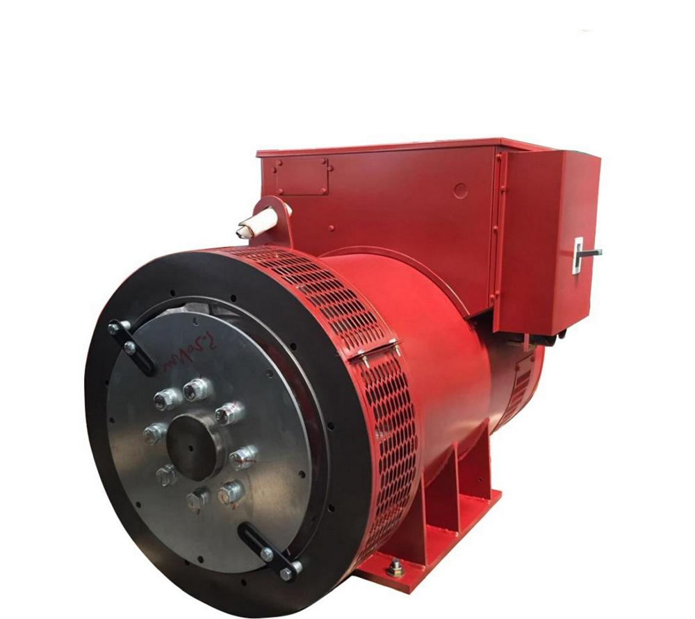 Red Color 4 Pole Generator