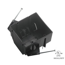 OEM Supply for Enclosure Box UL Waterproof plastic black electrical Pvc Junction Boxes supply to Lao People's Democratic Republic Manufacturer