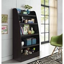 Manufactur standard for Wooden Bookcase Black Wooden Bookshelf for Kids Online Purchase export to Russian Federation Supplier