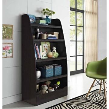 Black Wooden Bookshelf for Kids Online Purchase