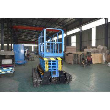 Outdoor Crawler Electric Track self-propelled Scissor Lift