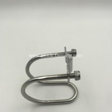 stainless steel cross clasp fastener