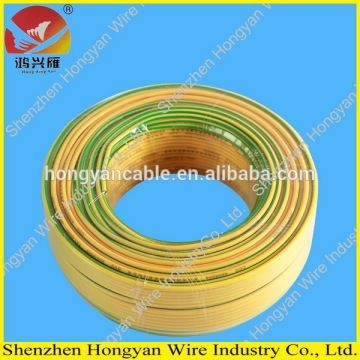 High quality PVC flexiable bare copper BVR35mm2 electrical cable for house wiring