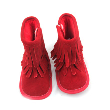 Personlized Products for Baby Boots Moccasins High Quality Kids Snowboots Leather Boots export to Russian Federation Factory