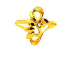 Flower Themed K Golf Ring