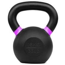 35 LB Powder Coated Kettlebell