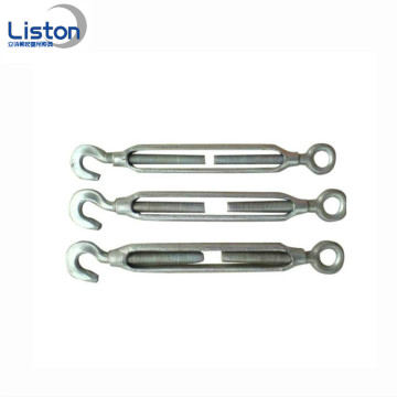 US Type Galvanized Heavy Duty Steel Turnbuckle