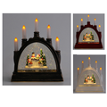 Lighted Water snow Lantern Glittering with candle