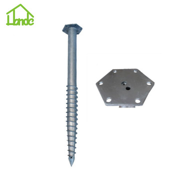 Low Price Hexagon Flange Ground Screw