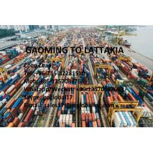 Foshan Gaoming Sea Freight to Syria Lattakia