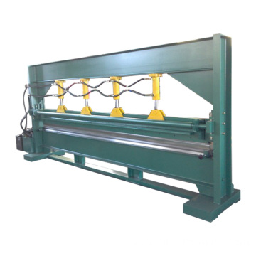 6m color steel sheet hydraulic bending machine