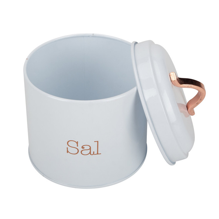 Salt Canister Metal