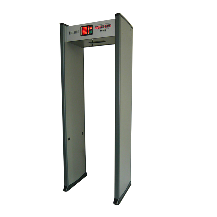 walk through metal detector security gate
