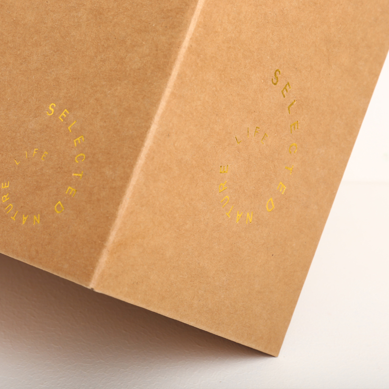 Hand-held Kraft Paper Carton Hollowed-out Box