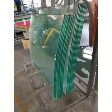 Curved tempered glass bent toughened glass