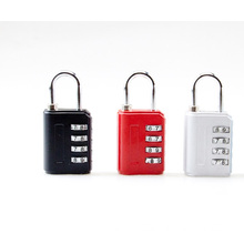 Zinc Alloy Combination Padlock With 4 Wheel Code