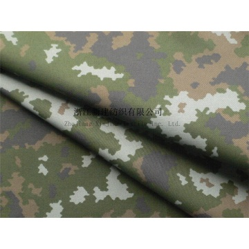 CVC Twill Digital Camouflage Fabric with IR