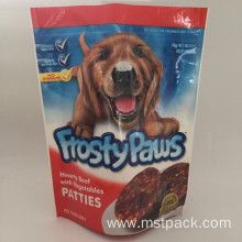 Plactic Stand Up Pouch For Pet Food
