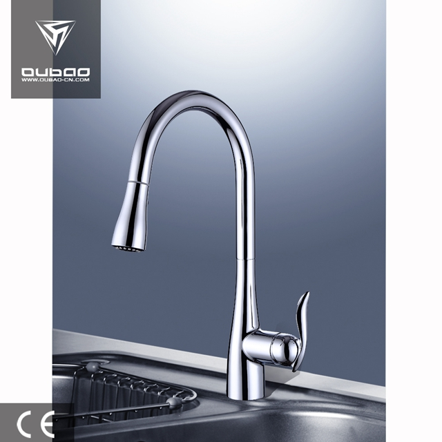 Single Hole Kitchen Faucet Ob D46