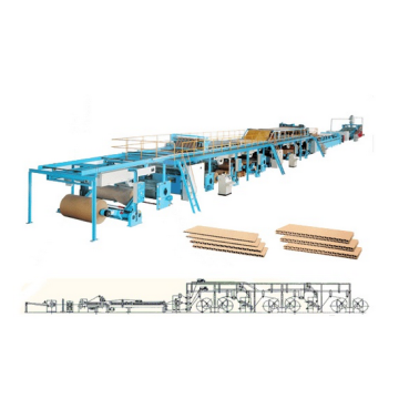Hot sale Factory for Single Facer Corrugated Cardboard Production Line export to India Factory