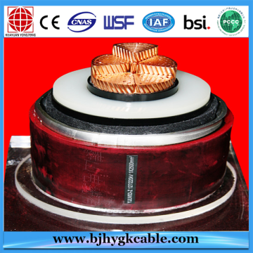 XLPE Insulation and High Voltage Type 132kV power cable