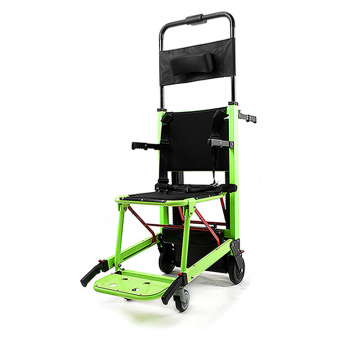 stair climbing wheelchair with track structure