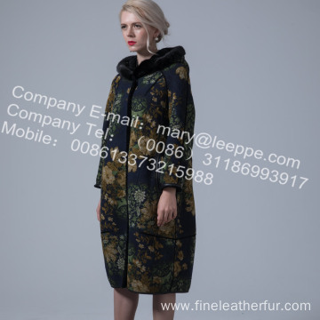 Reversible Australia Merino Shearling Winter Coat