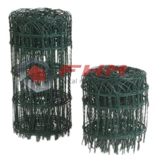 Green Garden Border Wire Picket Fence