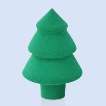 Hydrophilic non-latex makeup sponge Christmas customized