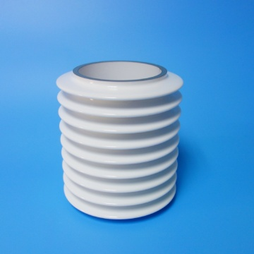 Glazed Metallized Ceramic Tubes for Power Grid Tubes
