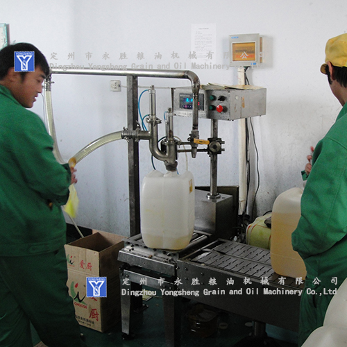 rice bran oil Filling Project