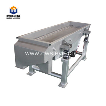 chemical powder linear vibrating screen sieve