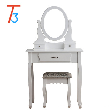 luxury simple vanity dressing table with mirror