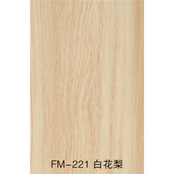 Wood grain UV fluorocarbon coating fiber cement board
