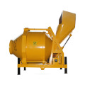 Diesel engine JZC350 portable cement concrete mixer
