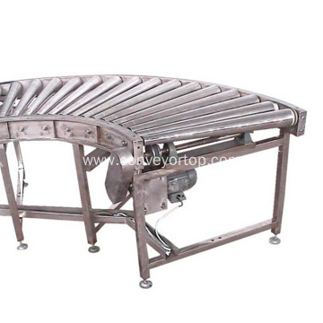 Custom Low Cost Professional Curved Roller Conveyor