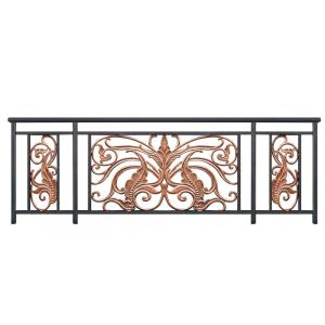 Butterfly flower aluminum balcony railing