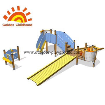 Outdoor Bridge In Park Kids Facility For Sale
