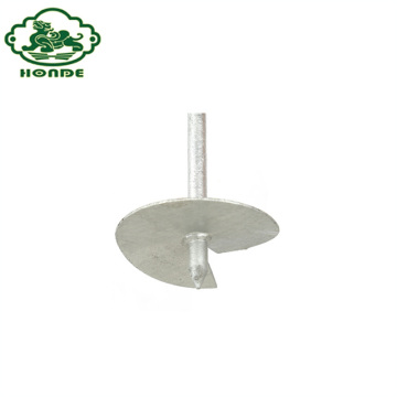 Galvanized Steel Earth Anchor Ground Screw