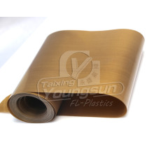 Excellent quality price for Teflon Coated Fiberglass Fabric Heat-Resistant PTFE Coated Glass Fabric supply to Spain Importers