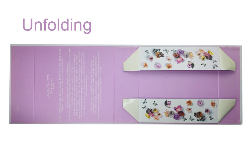 Unfolding Gift Box
