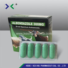 Hot Selling for for Albendazole Tablet Albendazole Bolus 2500mg Cow supply to India Factory