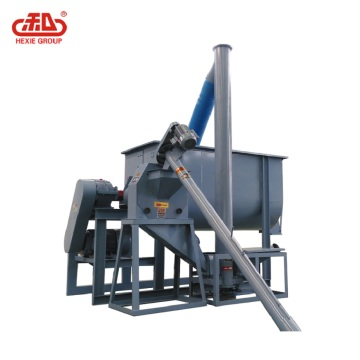 Pig feed production unit