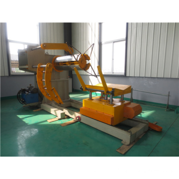 Hydraulic Decoiler coil Machine