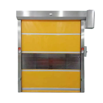 PVC Curtain Automatic Rapid Roller Door
