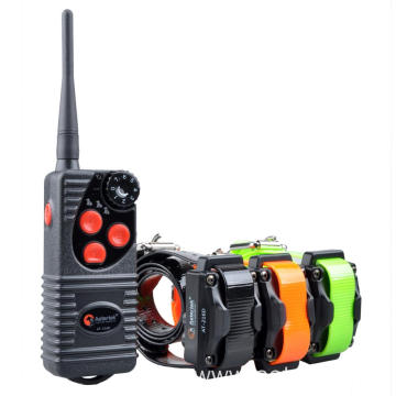 Aetertek AT-216D remote dog training collar 3 receivers