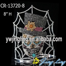Special Custom Halloween Skull Pageant Crown