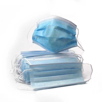 CE Certificated 3 layers Disposal Face Mask