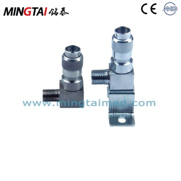 Medical gas air connector