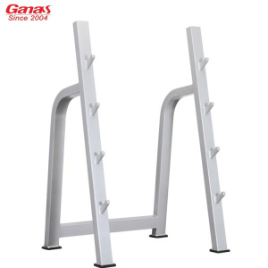 Ganas Gym Fitness 4 pair Barbell Rack